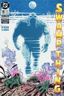 Swamp Thing (2nd Series) #69 1988 FN Stock Image