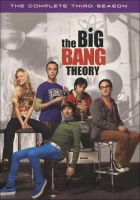 The Big Bang Theory: The Complete Third Season (DVD, 2010, 3-Disc Set) NEW