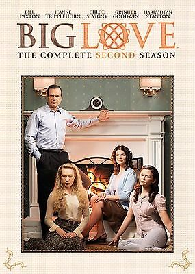NEW - BIG LOVE The Complete Second Season (2007) HBO Original Series DVD