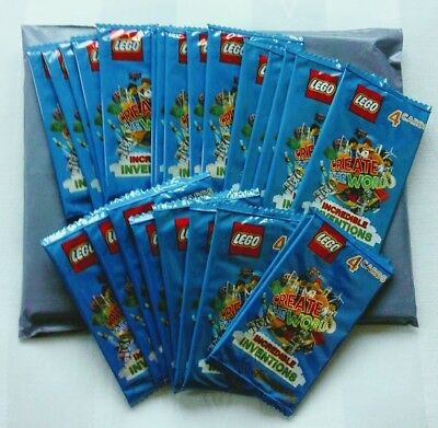 50 PACKS (200 CARDS) Sainsbury's Lego Cards - Incredible Inventions + FREE P&P
