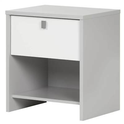 Modern Nightstand in Pure White Finish [ID 3495197]