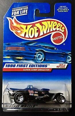 hot wheels 1998 first editions super comp dragster w//3 decal