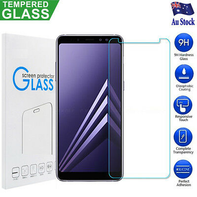 Tempered Glass Film Screen Protector For Samsung Galaxy A5 A6 A7 A8 A8+ 2018