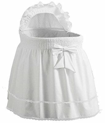 Babydoll Baby Cradle Bumpers 18x36 White