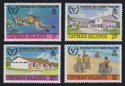 Cayman Is. - 1981 Disabled Persons Set. Sc. #474-7, SG #537-40. Mint NH