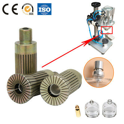 Metal Cap Press Crimp Heads Sealing Mould Of  Pneumatic Perfume Capping Machine
