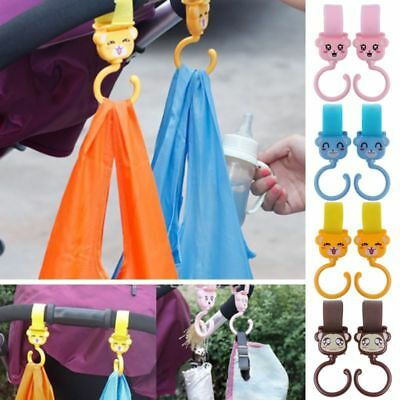 Baby Stroller Hook Multifunctional 360 Rotate Bag Hanger Universal Accessories