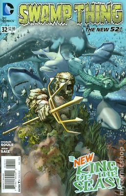 Swamp Thing (5th Series) #32 2014 VF Stock Image