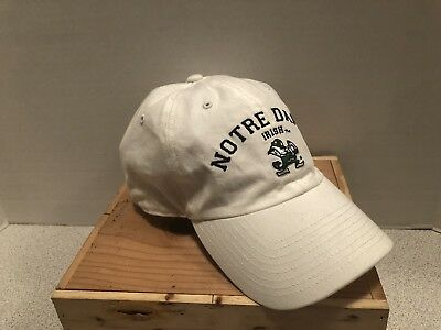 the best attitude af461 153ed Notre Dame Fighting Irish 47 Brand Clean Up Adj. Strap Slouch Hat Cap