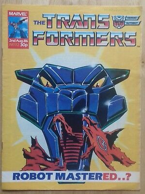 Transformers UK Comic Issue 72