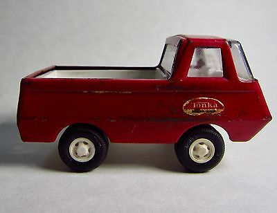 Vintage Tonka 1960s Red Pick up Delivery truck Mound Minn 4.5 inch metal
