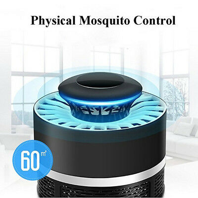 USB Electric Zapper Mosquito  Killer LED Light Insect Trap Lamp Pest Control