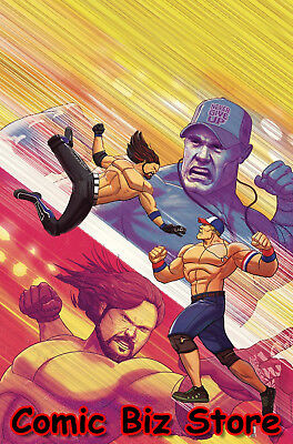 Wwe #22 (2018) 1St Printing D'alfonso Main Cover Bagged & Boarded Boom