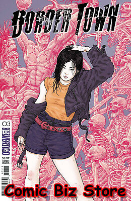 Border Town #3 (2018) 1St Printing Bagged & Boarded Dc Universe