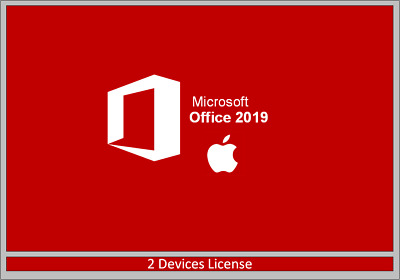 Microsoft Office 2019 Home and Business for Mac 100% Genuine |2 Devices License
