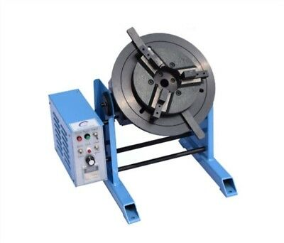 With 300Mm Chuck Duty Welding Positioner 100Kg Turntable Timing sz