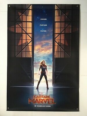 Captain Marvel | original DS movie poster 27x40 INTL | Avengers Brie Larson