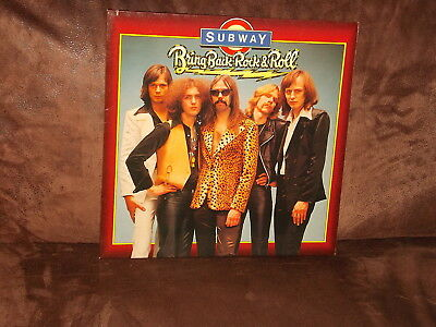 Vinyl-LP: SUBWAY - Bring Back Rock & Roll (1978) German Krautrock!