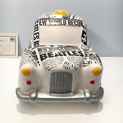 The Beatles Cookie Jar The Taxi  2792 Of 10,000 Made