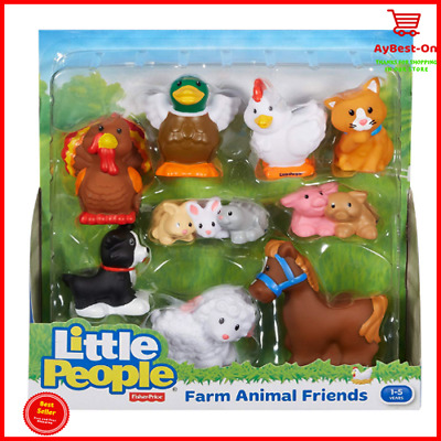 NEW Fisher-Price Little People Farm Animal Friends With Baby Toys Gift Christmas
