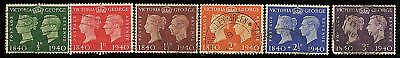 Great Britain  Used 252-257                (S539)