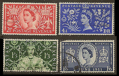 Great Britain  Used 313-316            (S581)
