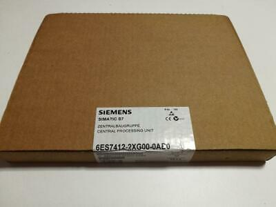 Siemens Simatic S7 CPU 412-2  Zentralbaugruppe 6ES7 412-2XG00-0AB0 new, sealed;