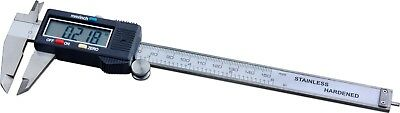 """Steel Core Stainless Steel 6"""" Electronic Digital Caliper with LCD Display"""