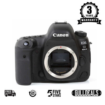 NEW Canon EOS 5D Mark IV Digital SLR Camera (Body Only) UK NEXT DAY DELIVERY