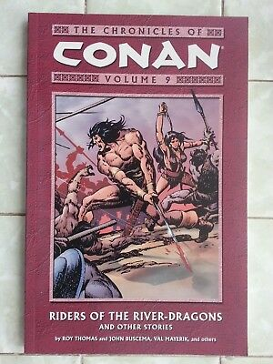 Chronicles of Conan Volume 9 Riders of the River-Dragons and other stories