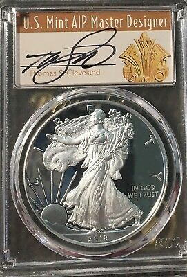 $1 2018 W Silver Eagle Pcgs Pr70 Congratulations Set First Day Issue Low Pop 25