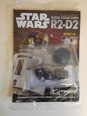 DeAgostini Star Wars Build Your Own R2-D2 Issues 63 NEW & SEALED