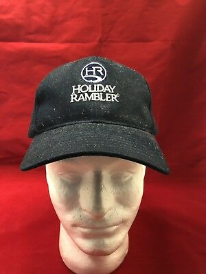 Holiday Rambler Black Ball Cap Hat Velcro Adjustable Free Shipping