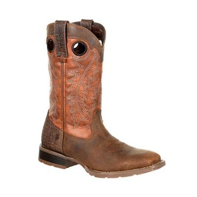 Durango Men's Mustang Pull-On Western Brown Boots DDB0157