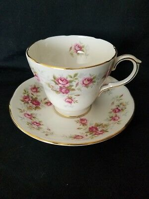 Duchess Bone China Cup And Saucer June Bouquet Pattern England
