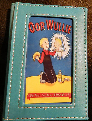 Great: Oor Wullie Polishing His Bucket Turquoise 2019 Pocket Diary. Brand New