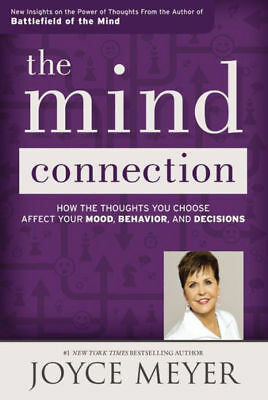 The Mind Connection by Joyce Meyer Self Help Battlefield of the Mind Book New