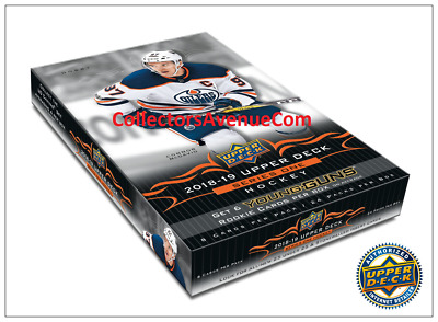 2018-19 Upper Deck Series 1 Hockey Hobby Box Sealed - CollectorsAvenueCom