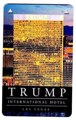 THE TRUMP INTERNATIONAL HOTEL *Las Vegas key card* Fast SAFE Shipping# 327