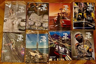 8 current Sealed Porsche Christophorus Magazines 381-388 2017-2018