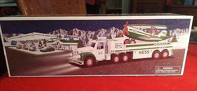 2002 HESS Toy Truck And Airplane **New in box**