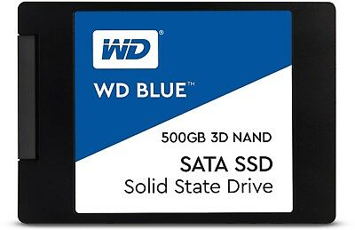 SSD 500GB WD Blue 3D Nand PC HDD Internal Solid State Drive SATAIII WDS500G2B0A