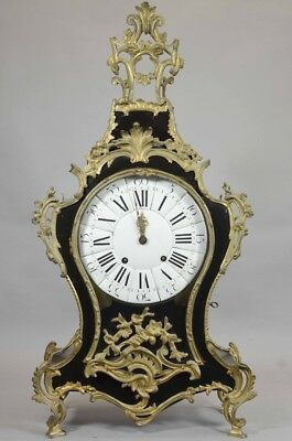 Xlarge Antique 18Th Century French Louis Xv Clock