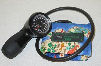 Welch Allyn Tycos Trigger Aneroid Sphygmomanometer - Pediatric Cuff