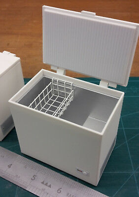 Dolls House Miniature Chest Freezer 1/12th scale NOT REAL