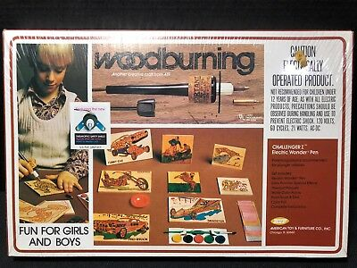 Woodburning Kit W103T Challenger 1 Vintage 1978