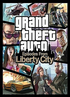 Grand Theft Auto: Episodes from Liberty City Steam Key PC Digital Download
