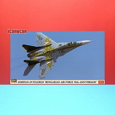 Hasegawa 1/72 MiG-29 Fulcrum -Hungarian Air Force the 70th Anniversary kit 02062