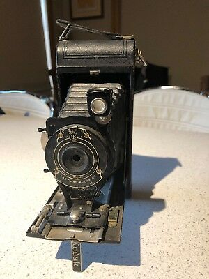 Rare Vintage Eastman Kodak CO. No.1A Pocket Folding Film Camera Made In USA