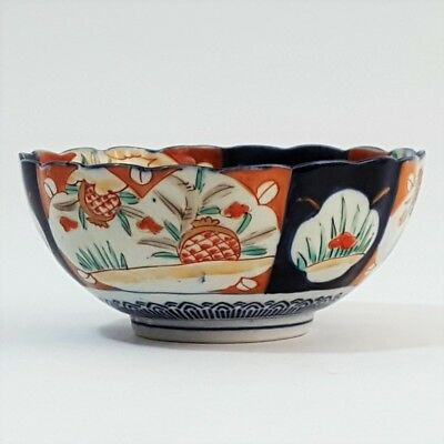 Japanese Imari Footed Bowl c late 19th century (15cm)